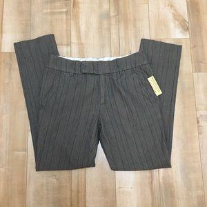 NWT Diesel Dress Pant Striped Capris